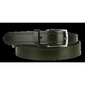 Cintura Stelle (2,9 cm) Barva pásku: zelená