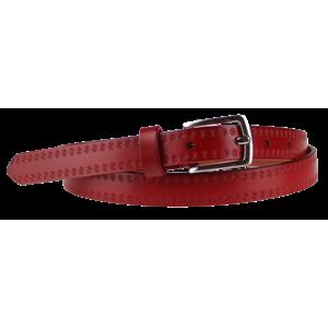 Cintura Stelle (2 cm) Barva pásku: červená