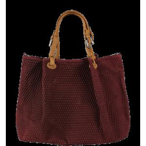Červená kabelka přes rameno Belloza Bordo